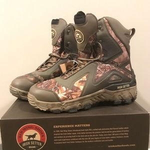 New Irish Setter M 10.5 hunting boots waterproof